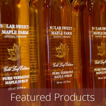 Specialty Maple Syrup Bottles