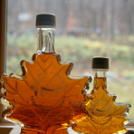 Glass Maple Leaf 250ml